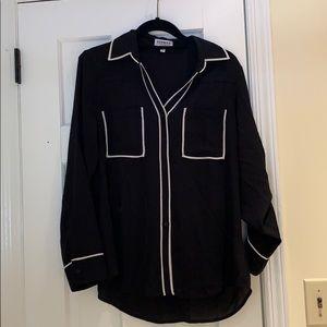 Express Portofino Button Down Collard Shirt